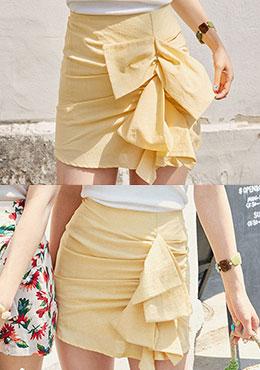 ☆韓国アイドル愛用☆スカート Wool Miniskirt